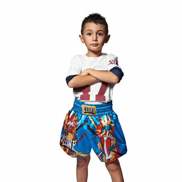 ABJ02 Thai Kick Short Hero JR